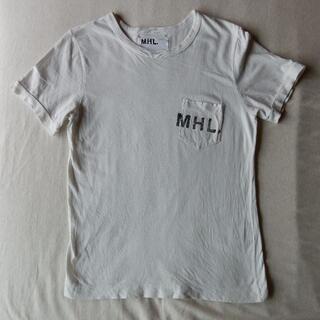 MARGARET HOWELL - MHL マーガレットハウエル 半袖Tシャツ Ⅲ 中古