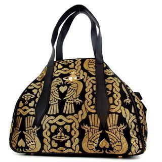 ヴィヴィアンウエストウッド(Vivienne Westwood)のヴィヴィアンウエストウッド ヤスミン オーブ 紋章柄 ハンドバッグ 16-500(ハンドバッグ)