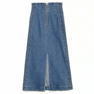 Lily Brown - リリーブラウン バッククロスデニムスカート
