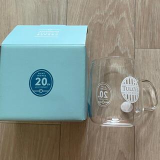 タリーズ ガラスマグカップ