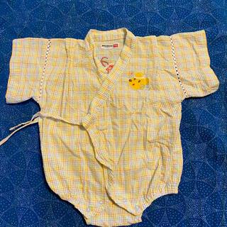 ミキハウス(mikihouse)のミキハウス ジンベエ 70cm ロンパース(甚平/浴衣)