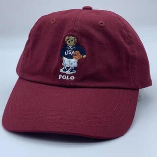 ポロラルフローレン(POLO RALPH LAUREN)のpolo ラルフローレンキャップ 熊ちゃん  (キャップ)