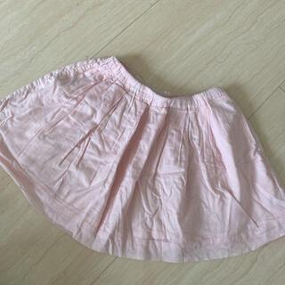 ユニクロ(UNIQLO)のユニクロ キッズ スカート ピンク 110 120 125(スカート)