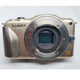 Panasonic - ショット数35回未使用新古品 ミラーレス一眼 LUMIX GF5 ゴールド