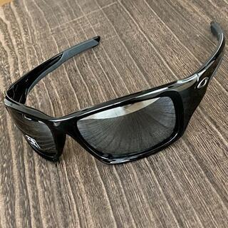 Oakley - オークリー バルブ 偏光 ブラック ミラー サングラス 釣り ゴルフ 黒
