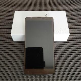 エルジーエレクトロニクス(LG Electronics)の【ジャンク品】isai vivid LGV32 シャンパンゴールド(スマートフォン本体)