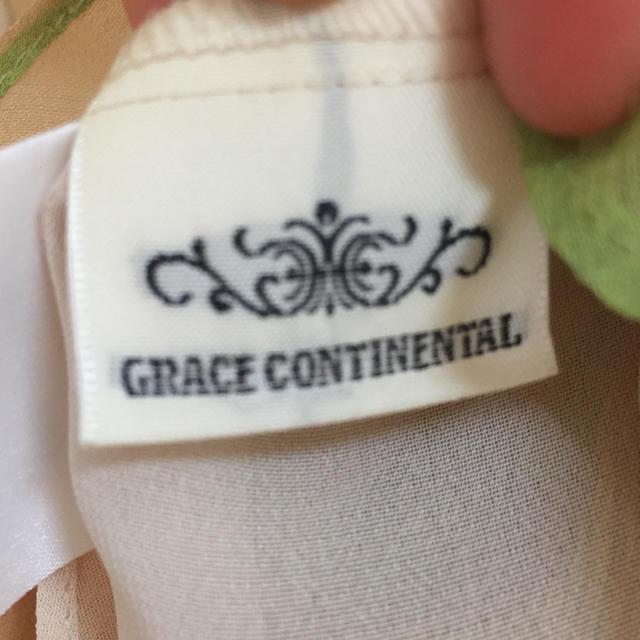 GRACE CONTINENTAL(グレースコンチネンタル)のGRACE CONTINENTAL シフォントップス美品♡ レディースのトップス(シャツ/ブラウス(半袖/袖なし))の商品写真