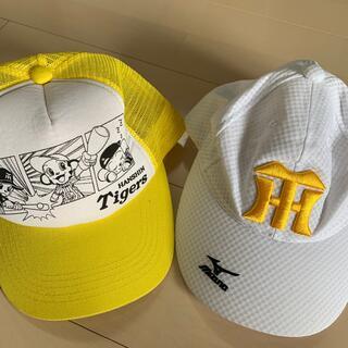 ハンシンタイガース(阪神タイガース)の阪神タイガースキッズ帽子(応援グッズ)