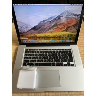 マック(Mac (Apple))の15インチ Macbook Pro  i7 SSD 512 office付き(ノートPC)