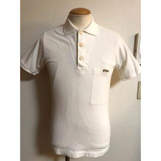 ダブルアールエル(RRL)の美品 ナイジェルケーボン ポロシャツ 44 ホワイト リボン xpv(ポロシャツ)
