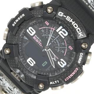 カシオ(CASIO)の カシオ メンズウォッチ マッドマスター BURTON(腕時計(アナログ))