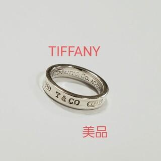 Tiffany & Co. - TIFFANY 美品 ナロー リング 指輪 シルバー 925 ティファニー