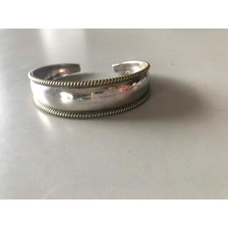 DEUXIEME CLASSE - ヴィンテージ メキシコ シルバー ブレス stering silver cuff