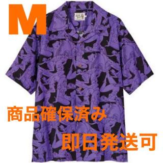 HYSTERIC GLAMOUR - HYSTERIC GLAMOUR 手塚治虫 奇子総柄 アロハシャツ 紫 Mサイズ