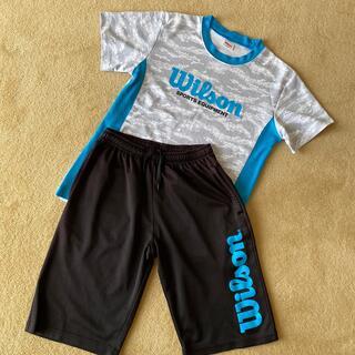 wilson - 咲ちゃん様専用ページ!ウイルソン 男児半袖Tシャツ&短パン上下セット 160cm