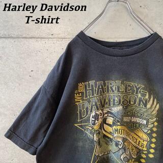 ハーレーダビッドソン(Harley Davidson)のHARLEY DAVIDSON ハーレーダビッドソン Tシャツ 両面プリント(Tシャツ/カットソー(半袖/袖なし))