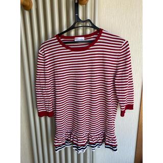 レッドヴァレンティノ(RED VALENTINO)のレッドバレンティノ♡ボーダーTシャツ(Tシャツ(半袖/袖なし))