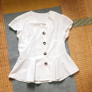 ティティベイト(titivate)のtitivate ペプラムトップス(カットソー(半袖/袖なし))