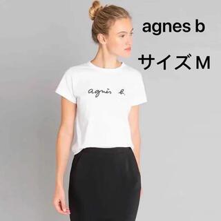 アニエスベー(agnes b.)のagnes bアニエスベー 白 size M(Tシャツ(半袖/袖なし))
