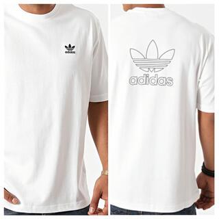 adidas - adidas フロント&バックプリント Tシャツ XL