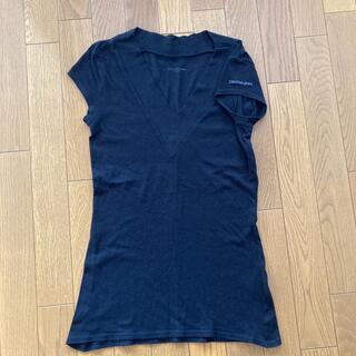 カルバンクライン(Calvin Klein)のCalvin Klein Jeans 黒Tシャツ(Tシャツ(半袖/袖なし))