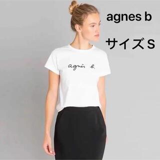 アニエスベー(agnes b.)のS size ホワイト agnes Tシャツ  新品(Tシャツ(半袖/袖なし))