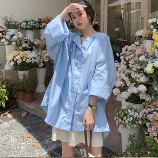 ディーホリック(dholic)のオーバーサイズシャツ 韓国ファッション(シャツ/ブラウス(長袖/七分))