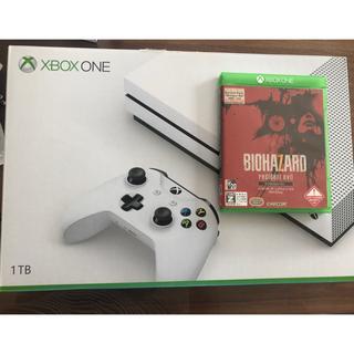 Xbox - XBOX ONE S 1TB バイオハザード7セット