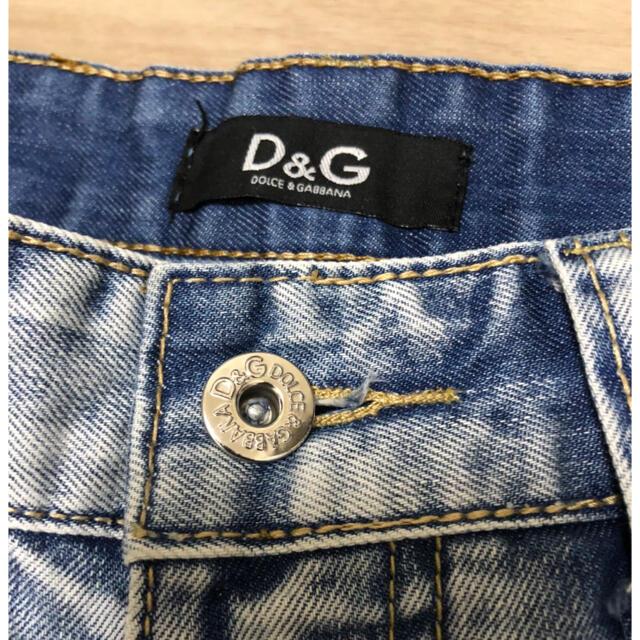 DOLCE&GABBANA(ドルチェアンドガッバーナ)のD&G  ジーパン ハーフパンツ  メンズのパンツ(デニム/ジーンズ)の商品写真