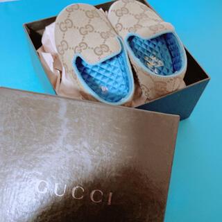 グッチ(Gucci)のGUCCI 幼児靴 GGマーク(スリッポン)