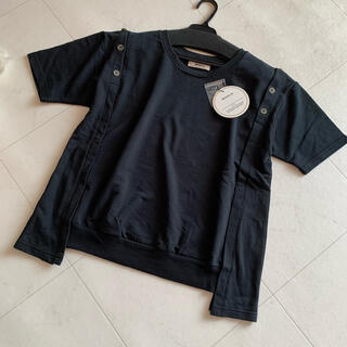SCOT CLUB - SCOTCLUB MONiLE ショルダーボタンコットンTシャツ