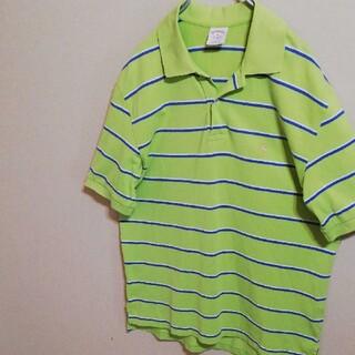 ブルックスブラザース(Brooks Brothers)のブルックスブラザーズ ポロシャツ グリーン 金ロゴ刺繍 ゴールデンフリース(ポロシャツ)