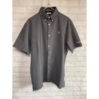 le coq sportif - 【伸縮性抜群】ルコックスポルティフ ゴルフウェア LLサイズ 半袖シャツ