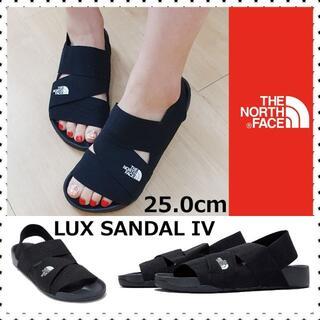 ザノースフェイス(THE NORTH FACE)の海外限定 ノースフェイス LUX SANDAL IV 軽量サンダル 25(サンダル)