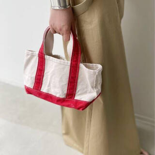 L'Appartement DEUXIEME CLASSE - アパルトモン 【L.L.Bean  】Canvas Mini Tote Bag