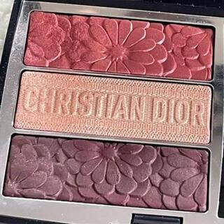 Christian Dior - Dior トリオブリックパレット663 ピュアグロウ アイシャドウ
