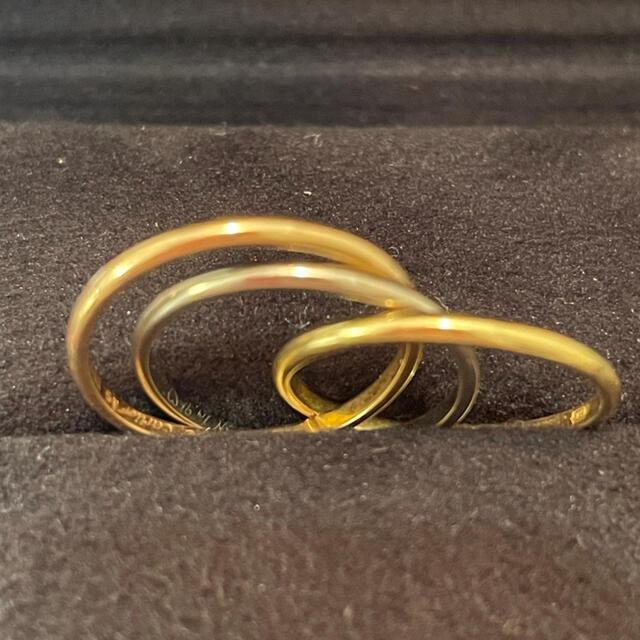 Cartier(カルティエ)のCartier カルティエ トリニティ リング #46 付属品完備 レディースのアクセサリー(リング(指輪))の商品写真