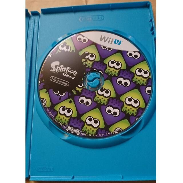 任天堂(ニンテンドウ)のSplatoon(スプラトゥーン) Wii U エンタメ/ホビーのゲームソフト/ゲーム機本体(家庭用ゲームソフト)の商品写真