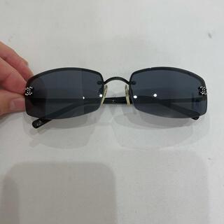 シャネル(CHANEL)の599 正規品 シャネル サングラス 4093-B 付属 シャネルクロス付き (サングラス/メガネ)
