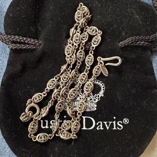 ジャスティンデイビス(Justin Davis)のジャスティンデイビス  QEチェーン 50cm ネックレス(ネックレス)