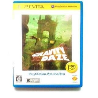 プレイステーションヴィータ(PlayStation Vita)の【送料無料】グラビティデイズ GRAVITY DAZE PS Vita Best(携帯用ゲームソフト)