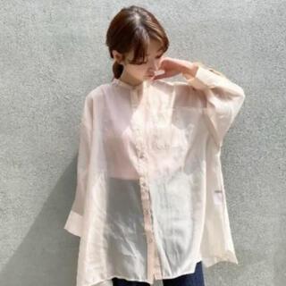 Kastane - カスタネ 透けフィラメントbigシャツ