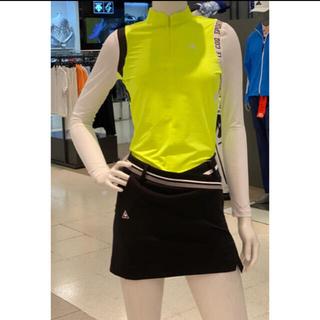 ★韓国正規品★ルコックゴルフ UVクール シャツ S