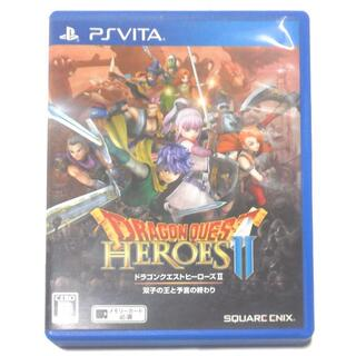 プレイステーションヴィータ(PlayStation Vita)の【送料無料】ドラゴンクエスト ヒーローズ2 双子の王と予言の終わり PSvita(携帯用ゲームソフト)