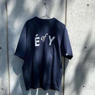 ワンエルディーケーセレクト(1LDK SELECT)のENNOY Professional E of Y tee ネイビー M(Tシャツ/カットソー(半袖/袖なし))