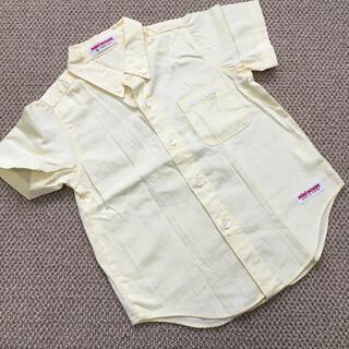 ミキハウス(mikihouse)の(80㎝)■ミキハウス/MIKIHOUSE■イエロー半袖シャツ/フォーマル(Tシャツ)