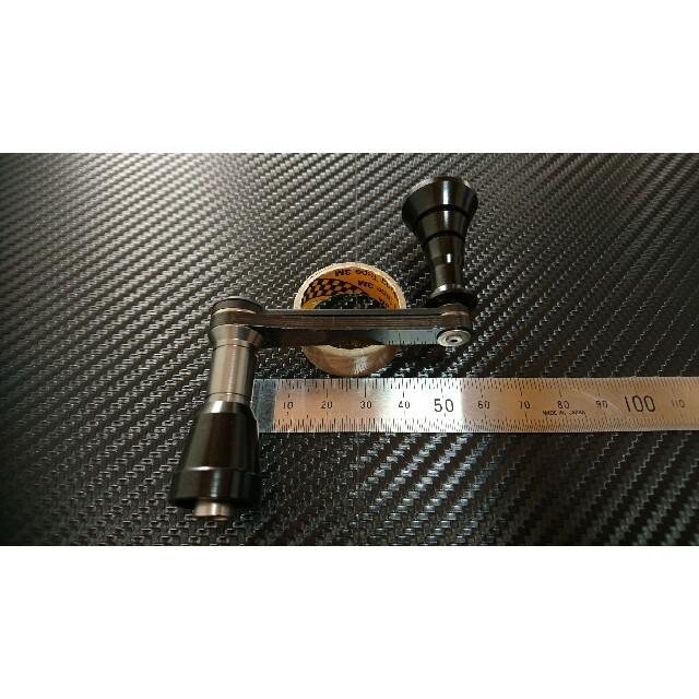【Bassart/バサート】ダイワ用 ハンドル 52mm スポーツ/アウトドアのフィッシング(リール)の商品写真