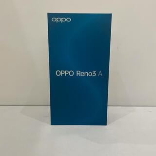 アンドロイド(ANDROID)の598 超美品 OPPO Reno3 SIMフリー 端末支払い済み 付属品あり(スマートフォン本体)