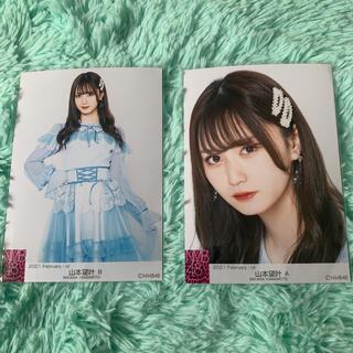 エヌエムビーフォーティーエイト(NMB48)のNMB48 生写真 2021 February 山本望叶 コンプ(アイドルグッズ)