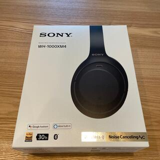 SONY - SONY WH-1000XM4 ブラック ノイズキャンセリングヘッドホン